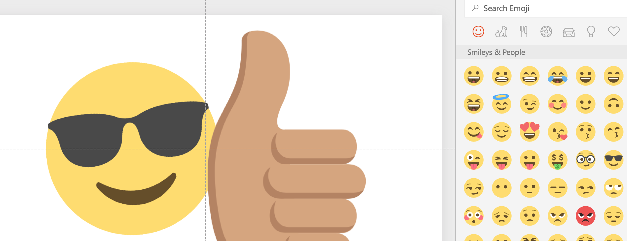 Emoji in Office 365
