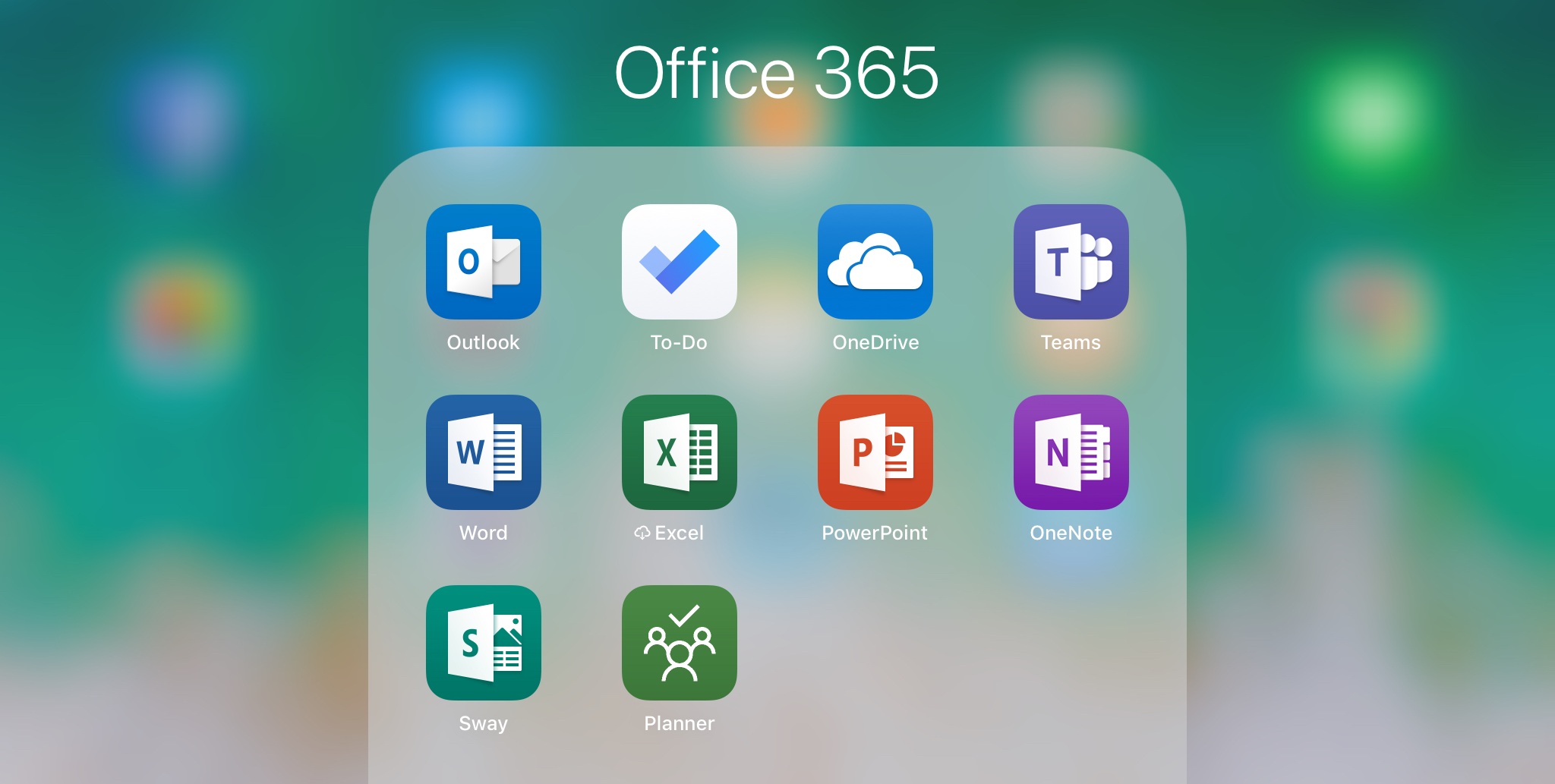 iPad Office 365